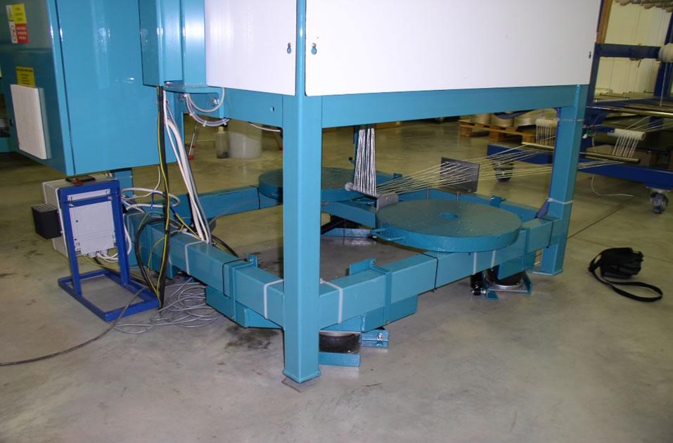 Vibroizolace stroje na výrobu  lan