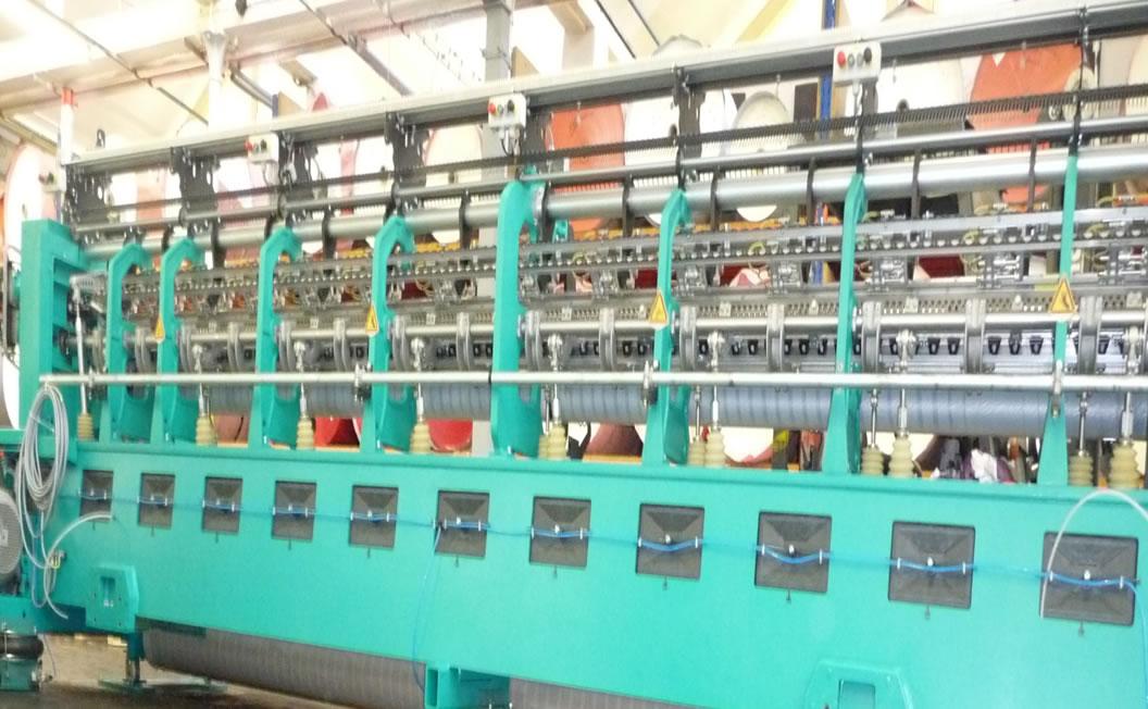 Vibroizolace rychloběžného rašlového stroje