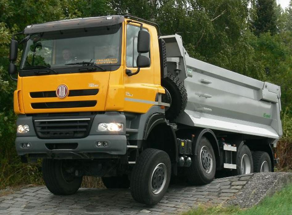 Odpružení náprav vozidel Tatra